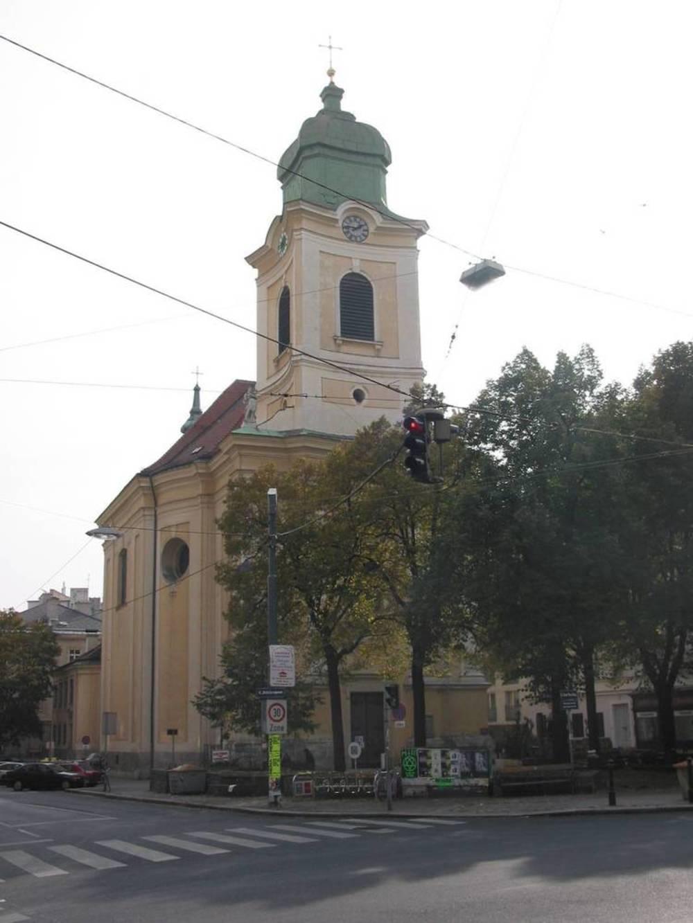 pfarrkirche gumpendorf - st   u00c4gyd