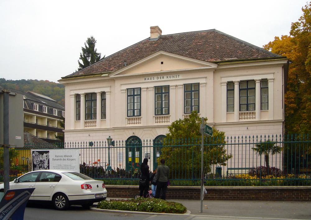 Haus der kunst baden falter event locations for Interieur exterieur wohnen in der kunst