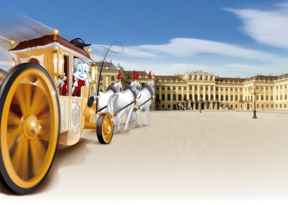 Schloß Schönbrunn Kultur- und Betriebsges.m.b.H./ Illustration Hannes Eder