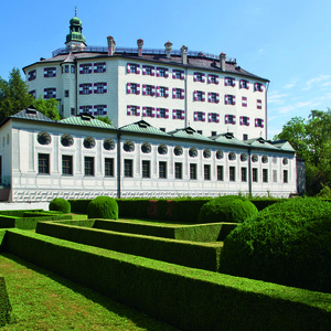 """""""Zur Schlossgeschichte"""" - gewidmet den einstigen Schlossbewohnern Philippine Welser und Erzherzog Ferdinand"""