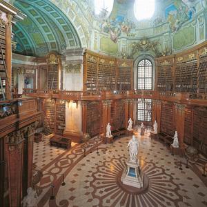 "Prunksaal & die Ausstellung ""Kaiser Maximilian I. Ein großer Habsburger"""