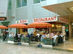 Sushi Restaurant Sunrise Kyoto und asiatische Speisen