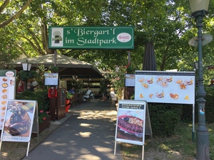 Biergartl im Stadtpark